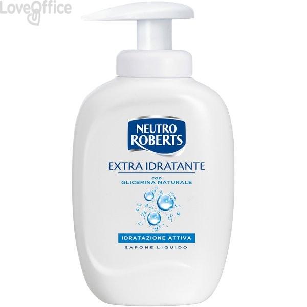 Sapone liquido Neutro Roberts - Extra Idratante - 300 ml (conf.3)