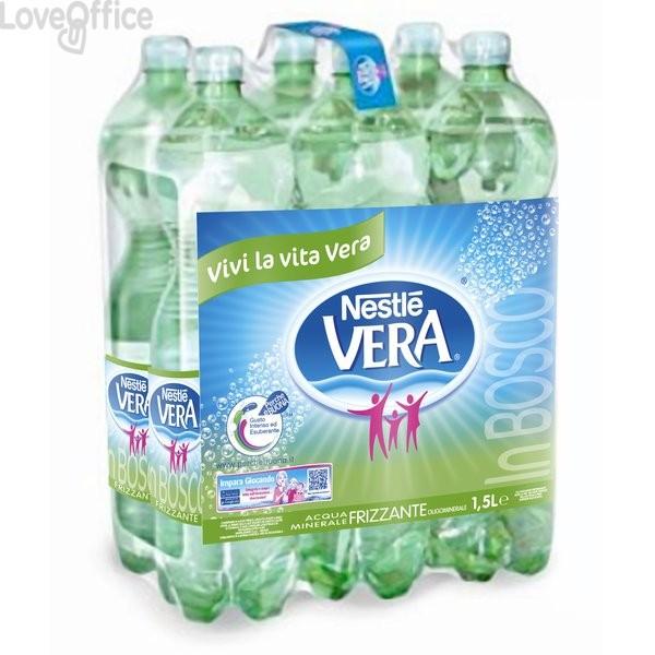 Acqua Vera frizzante - Nestlé in Bosco - 1,5 l (conf.6)