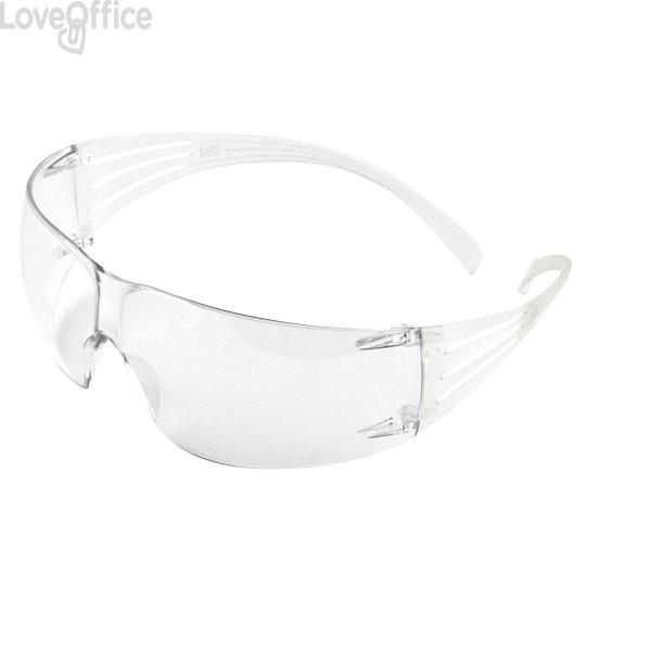 Occhiali di protezione linea Classic SecureFit™ 3M - trasparente - 82193