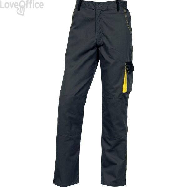 Pantaloni da lavoro Delta Plus DMPAN - grigio/giallo - L