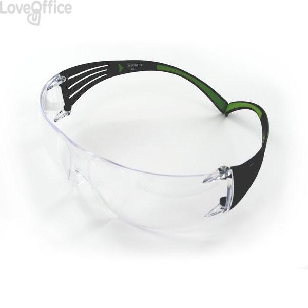 3M Occhiali di protezione trasparenti linea Classic SecureFit™
