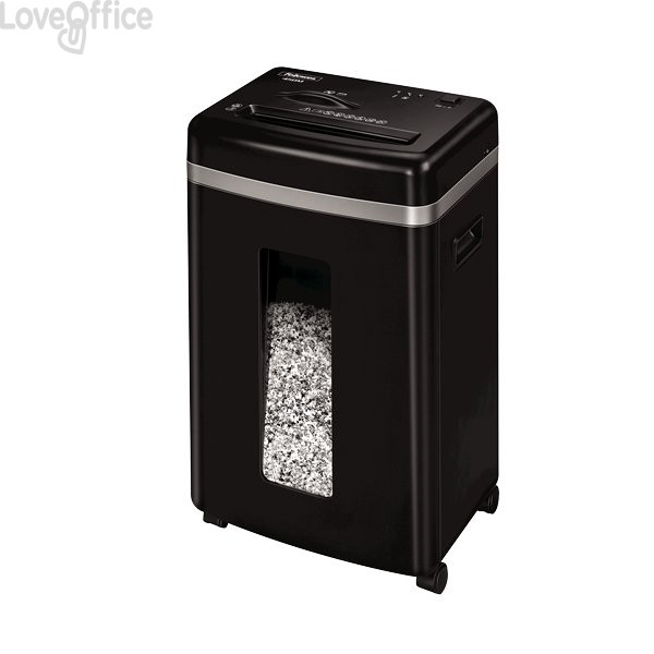 Distruggi documenti P5 Fellowes a microframmento Powershred® 450M uso personale - 2x12 mm