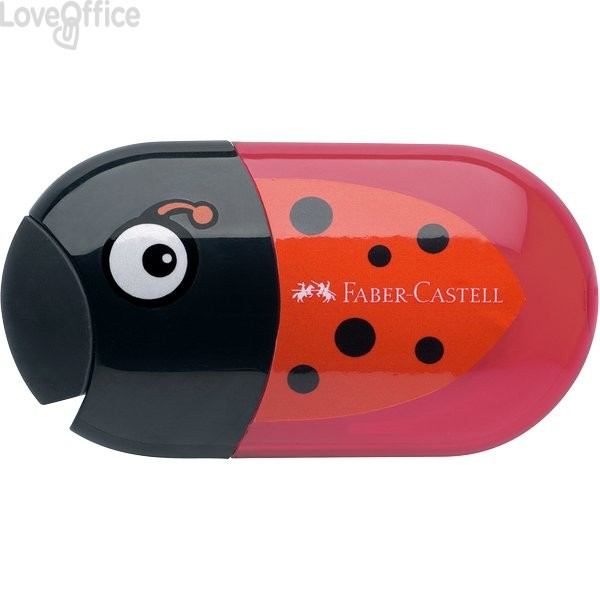 Temperamatite Animals Faber Castell - coccinella