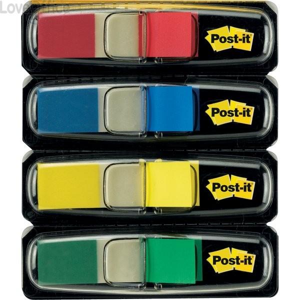 Segnapagina Post-it® Index Mini 683 - blu, giallo, rosso, verde - 683-4 (conf.4 da 35 fogli)