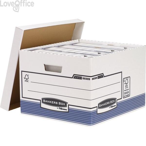 Scatole archivio standard R-Kive Prima Fellowes - 33,5x40,4x29,2 cm (conf.10)