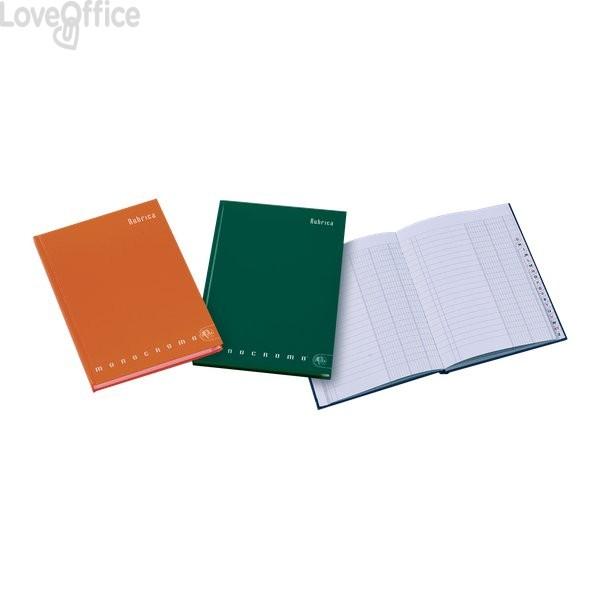 Rubrica Monocromo cartonata Pigna a righe 1R - A4 21x31 cm - 98 fogli - 02068681R