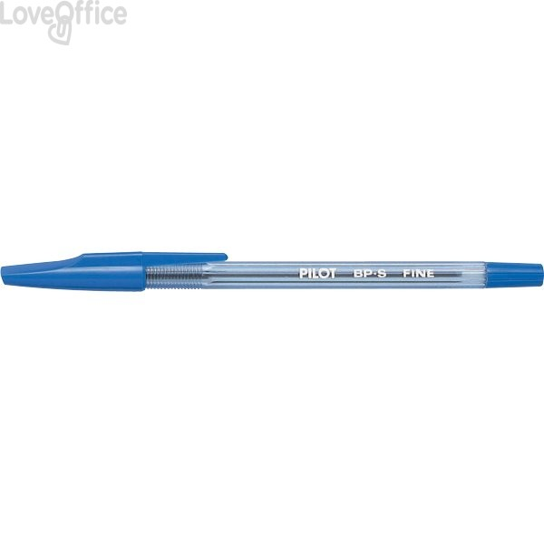 Penne a sfera BP-S Pilot - blu - 0,7 mm (conf.12)