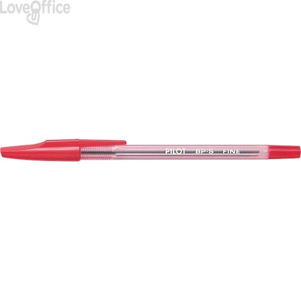 Penne a sfera BP-S Pilot - rosso - 0,7 mm (conf.12)