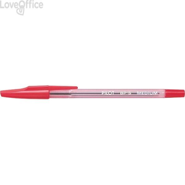 Penne a sfera BP-S Pilot - rosso - 1 mm (conf.12)