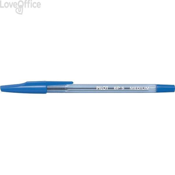 Penne a sfera BP-S Pilot - blu - 1 mm (conf.12)