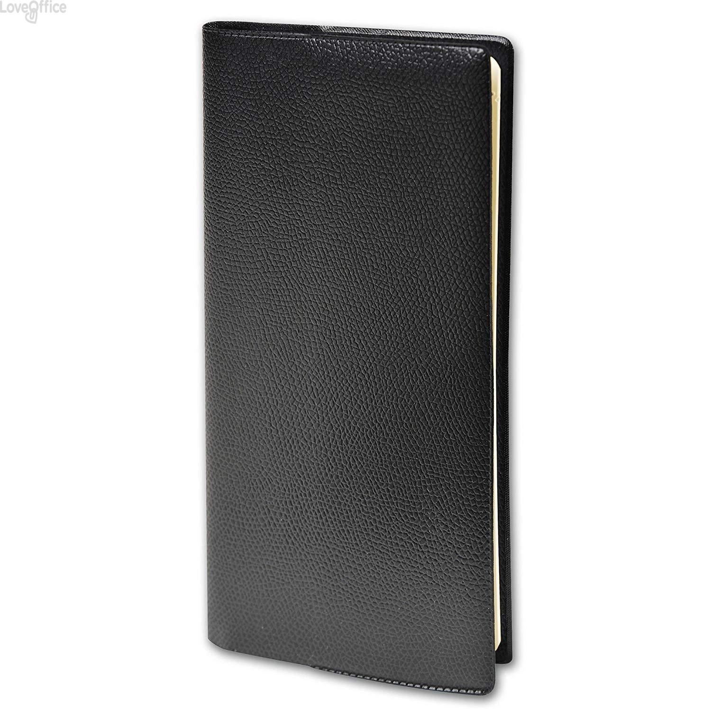 Quo Vadis Agenda 2020 - Agenda settimanale Planital Impala - nero - 8,8x17 cm