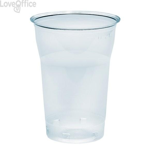 Bicchieri in plastica trasparente Diamant DOpla - 250 cc (conf.50)