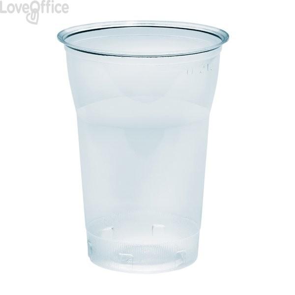 Bicchieri in plastica trasparente Diamant DOpla - 350 cc (conf.50)
