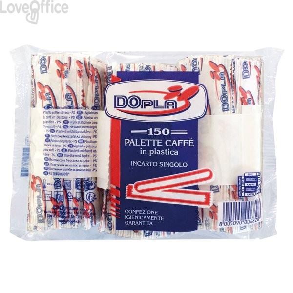 Palette caffè Dopla - trasparente - 05033 (conf.150)