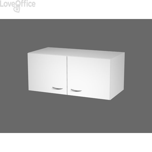 Armadi componibili Artexport 2898 - sopralzo - L90 P45,8 H40 CM - bianco