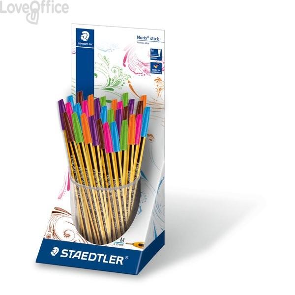 Penne a sfera Noris® Stick Staedtler - assortito (conf.30)