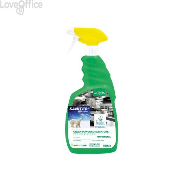 Sgrassatore ecologico superfici Sanitec - 750 ml - 3101
