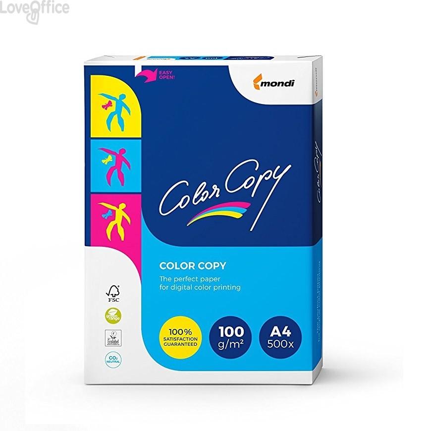Risma carta A4 Color Copy Mondi - 100 g/mq (risma da 500 fogli)