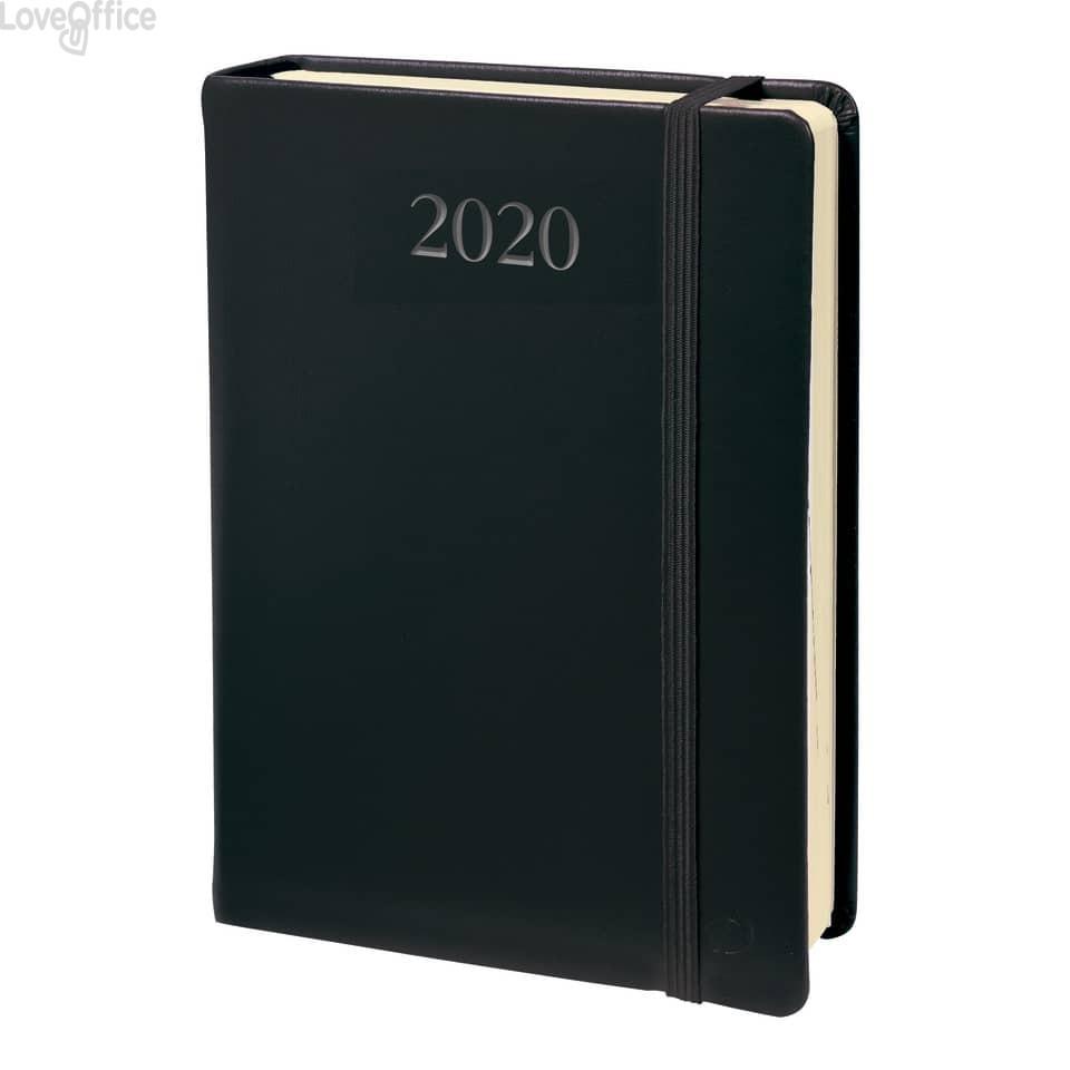 Quo Vadis Agenda 2020 - Agenda giornaliera Daily 21 Habana - 13x21 cm - nero
