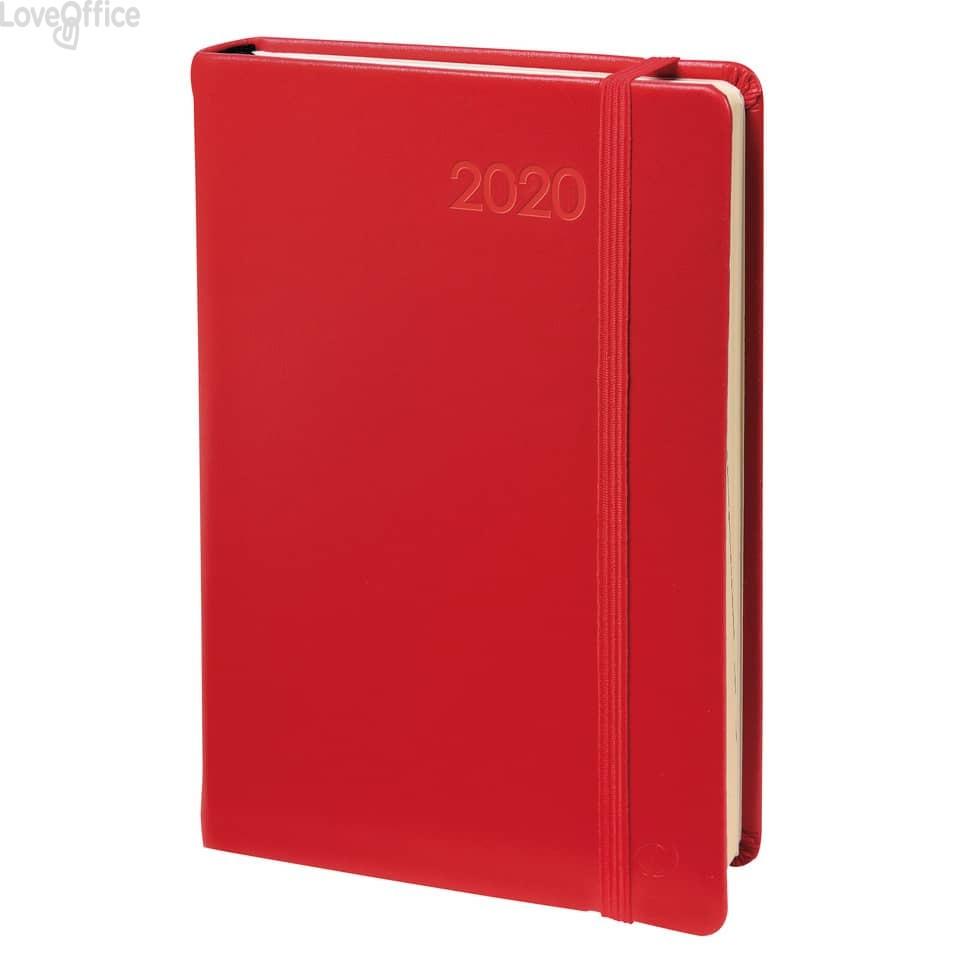 Quo Vadis Agenda 2020 - Agenda settimanale Affari Prestige ML Habana - rosso - 10x15 cm