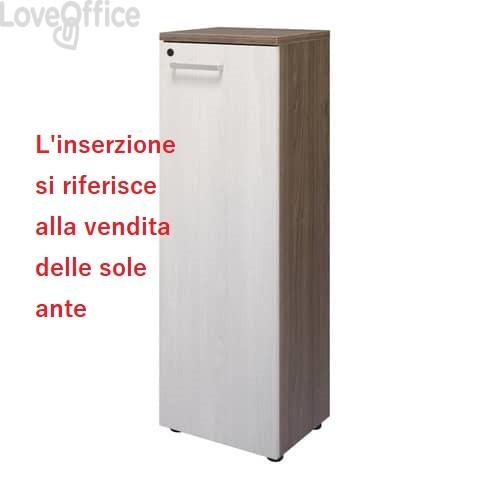 Anta per mobile alto Unisit Firenze 40x128 cm frassino chiaro