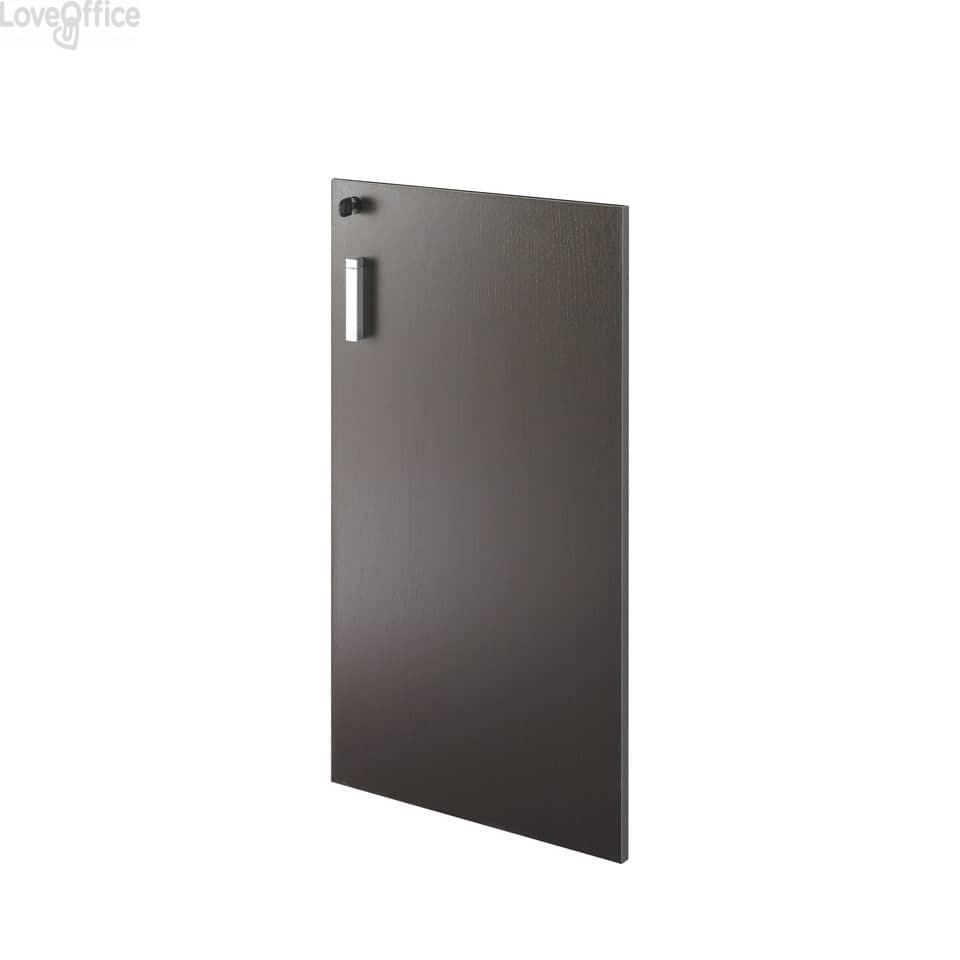 Anta per mobile basso Unisit Spirit 45x90 cm wengé