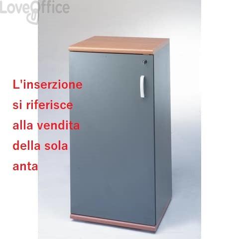 Anta per mobile alto Unisit Venice 45x130 cm Antracite UVEAT134