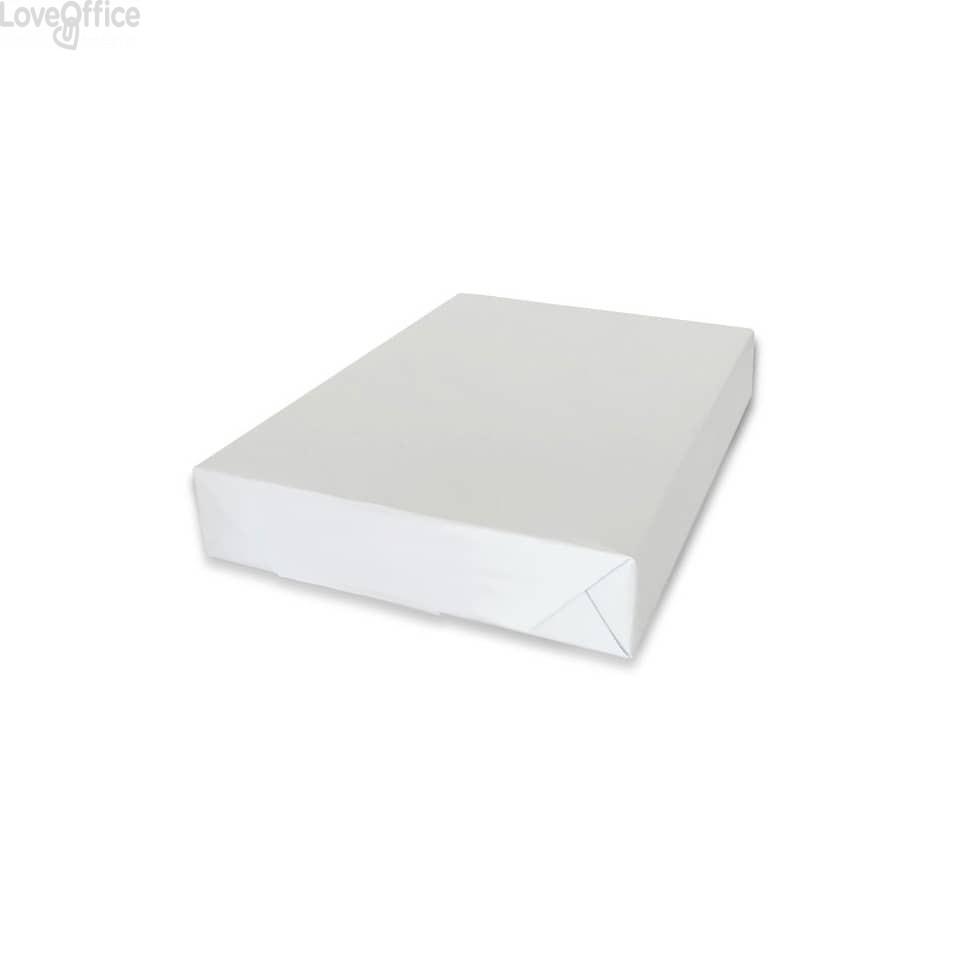Risme carta per fotocopie A4 75 g/m² White Label (5 risme da 500 fogli)