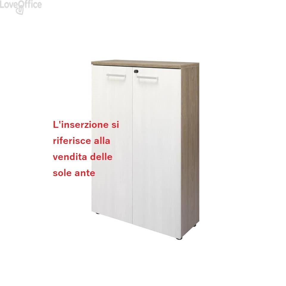 conf. 2 Ante per mobile Firenze Unisit 80X35x128 cm