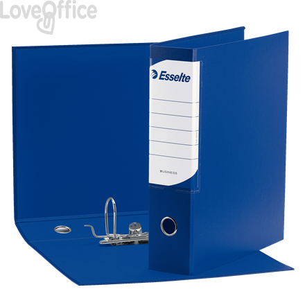 Esselte Raccoglitore Oxford Business - registratore protocollo - dorso 8 - 23x33 cm - blu