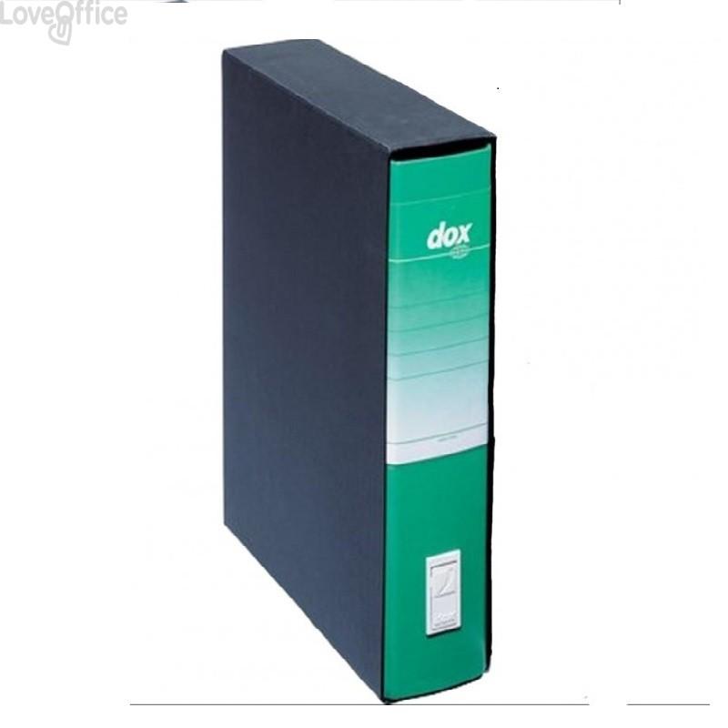 Registratore a leva Dox 4 - Commerciale - dorso 5 cm - 23x29,7 cm - verde - D26414