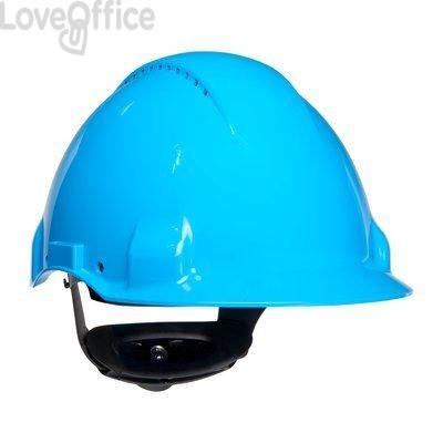 Casco antinfortunistico G3000 3M - azzurro - 21750