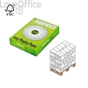 Bancale carta per fotocopie A4 75g Disco33 (Pallet 240 risme)