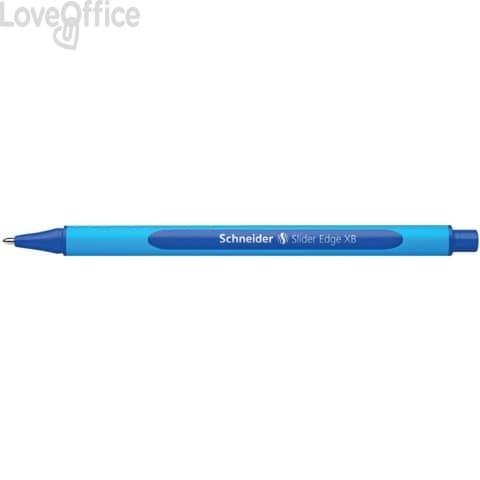 Penna a sfera blu Edge Schneider