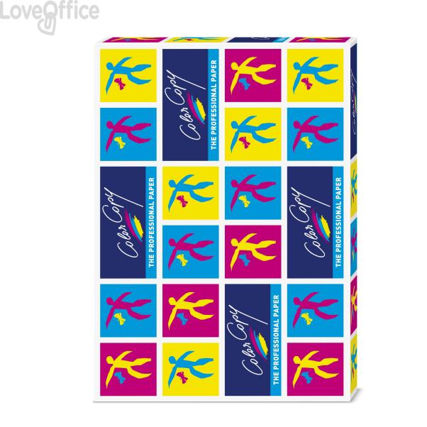 Cartoncini bianchi Color Copy Mondi - Risma carta SRA3 - 250 g/mq - 45x32 cm (125 fogli)