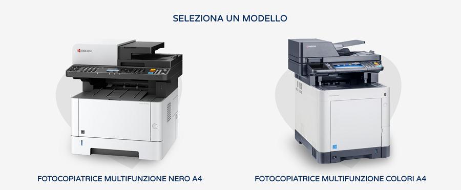 noleggio stampanti in tutta italia